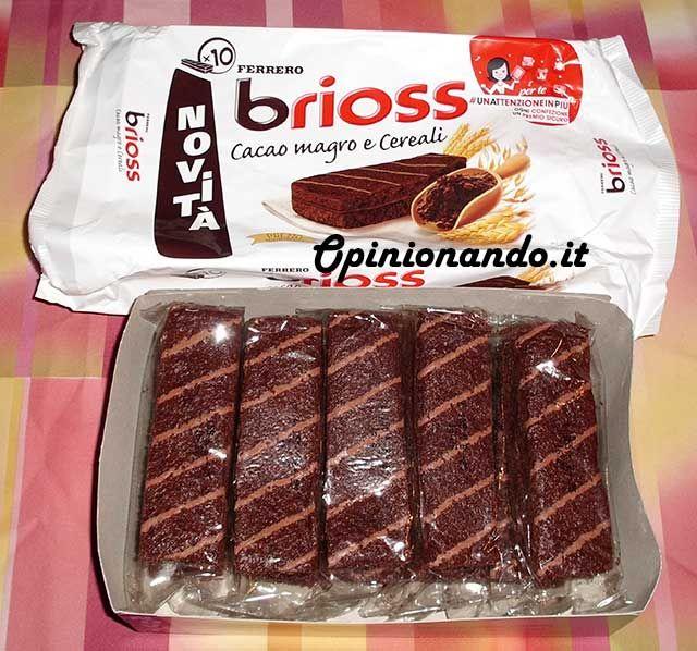 Ferrero Brioss Cacao magro e cereali Confezione aperta  - #recensione #opinionando