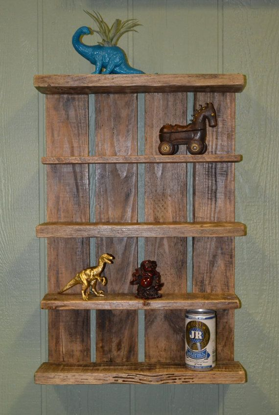 Rustic Country Home Wall Shelf Shabby Chic by SnarlingBunny. fall, autumn, winter, decor, decoration, decorations, decorating, decorate, cottage, folk, primitive, shelf, shelves, wall, walls, reclaim, reclaimed, claimed, repurpose, repurposed, wood, wooden, old, decay, decayed, weathered, brown, tan, beige, knick, knack, knick-knack, book, case, cases, mantel, nature, natural, hang, hanging.