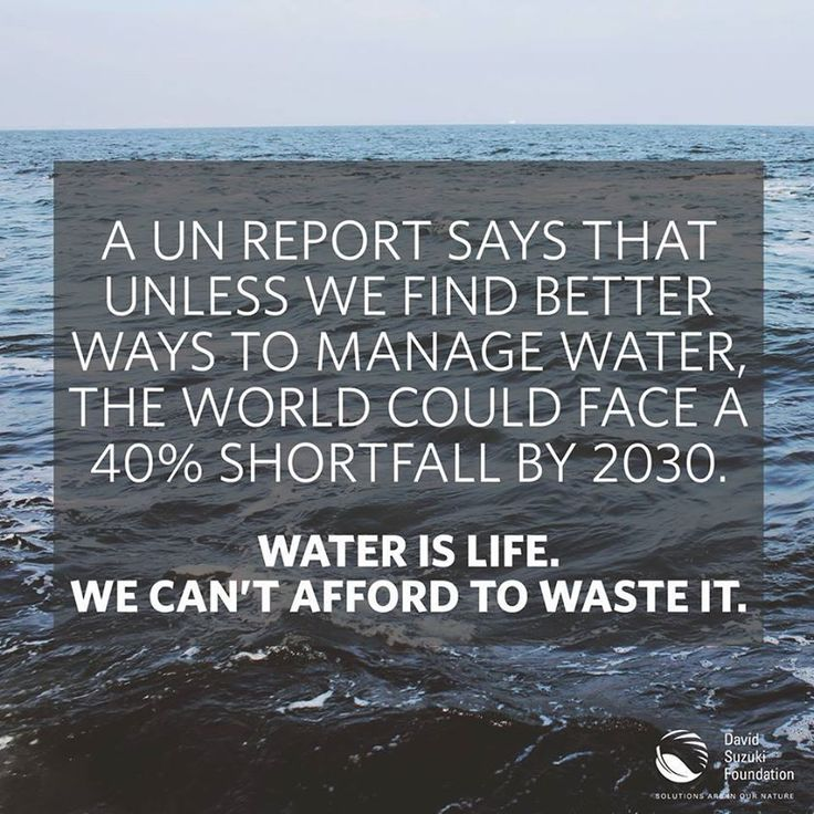 40% Water Shortfall Globally by 2030 Unless Dramatically Better Manage #Water Use: UN Report #climate #climatechange
