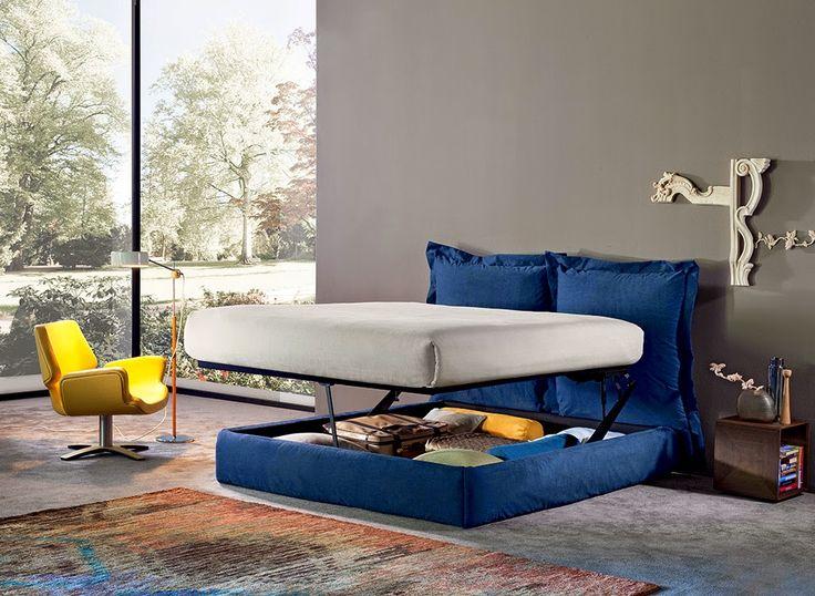 HOMETROTTER. Home style blog | casa, arredamento, design #getinspired: Il letto-contenitore: tra innovazione e personaliz...