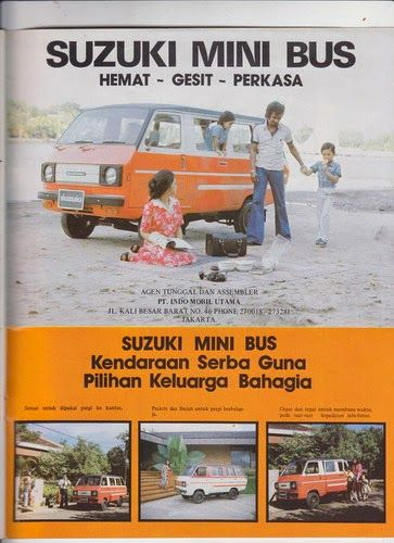 SUZUKI MINI BUS, ca. '77