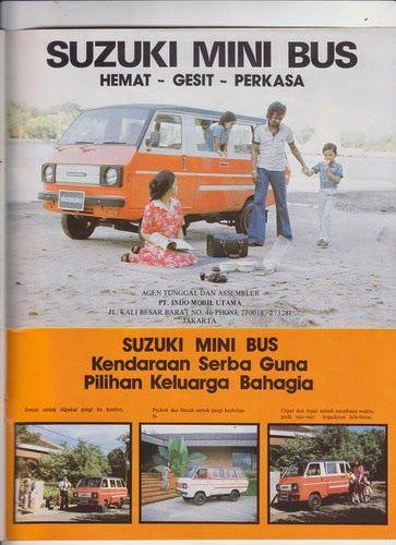 SUZUKI MINI BUS, ca. '77