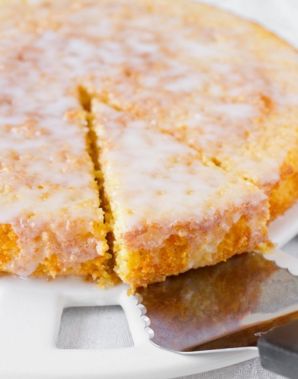 Lemon Cornmeal Cake | Cake Recipes | Pinterest