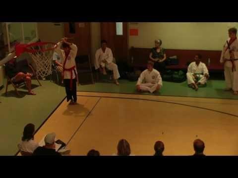 ▶ William Sistler Performing Tang Soo Do Sword Form #1 - YouTube
