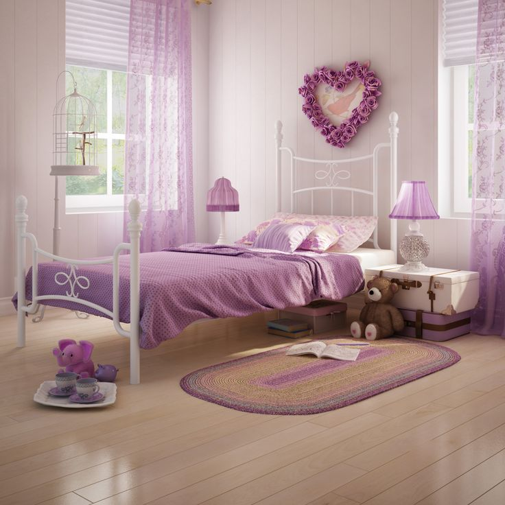 AMISCO - Selma Kids Bed (12749) - Furniture - Bedroom - Boudoir collection - Transitional - Kids bed
