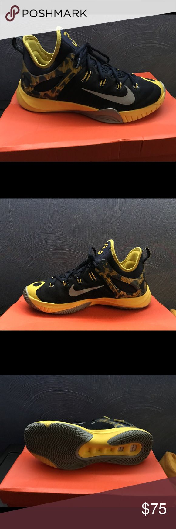 2015 hyper revs Paul George's Only wore 4 times no scuffs or anything they are in great condition Nike Shoes Athletic Shoes
