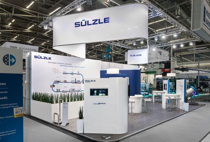 artistic werbewelten | Messebau | Messestand für die Sülzle Holding GmbH & Co. KG