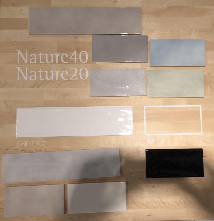 Tonalite collezione Nature 40, 10x40 e Nature 20, 10x20, 8 colori lucidi su superficie strutturata. Tiles, piastrelle, ceramiche, ceramica, walltiles, floortiles, rivestimento, pavimento, herringbone, posa incrociata