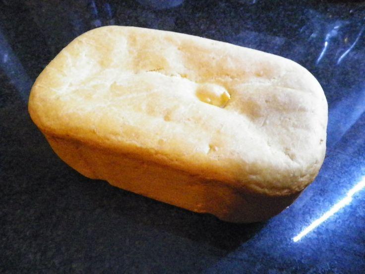 Torta al formaggio con la macchina del pane