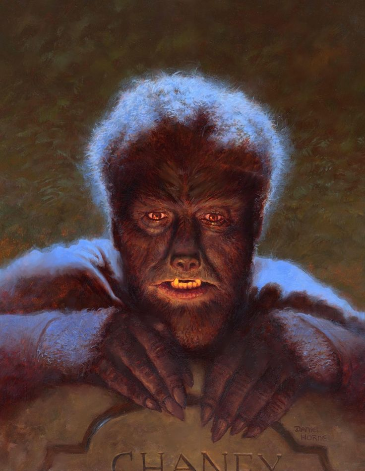 RS011 - Lon Chaney Jr. as The Wolf Man by Daniel Horne