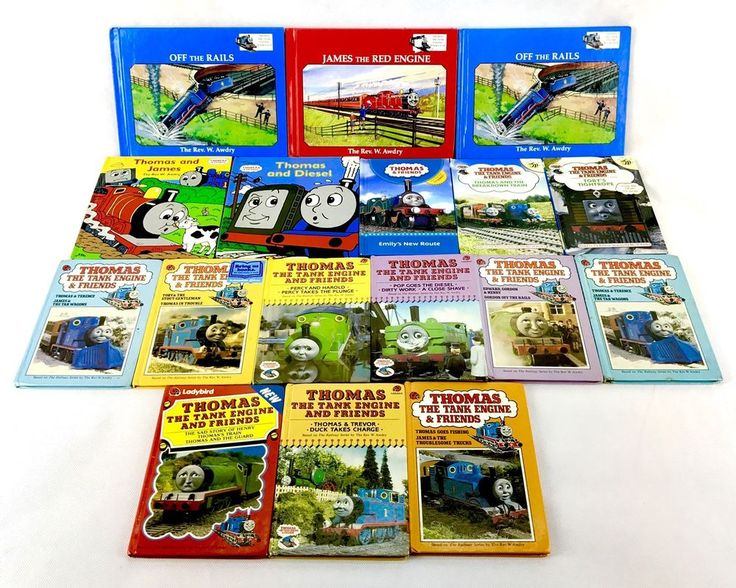 Thomas The Tank Engine & friends Book Bundle 17 In Total Some Vintage Lady Bird