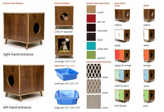 Modular Cabinet Set // Mid Century Modern Pet by modernistcat