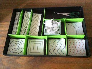 Tuto pour une boîte à découpage façon Montessori :)
