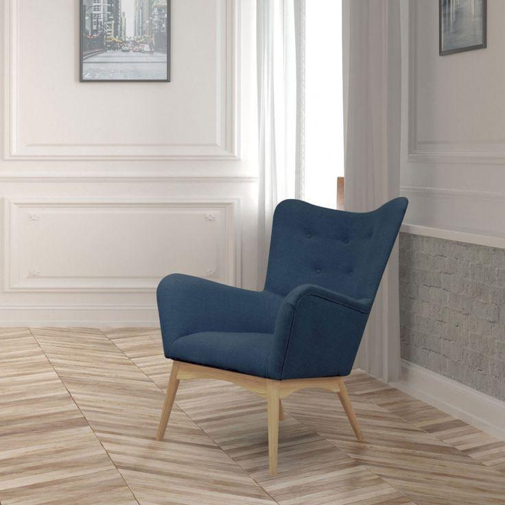 Karl Sessel - Blau | Helga Interiors