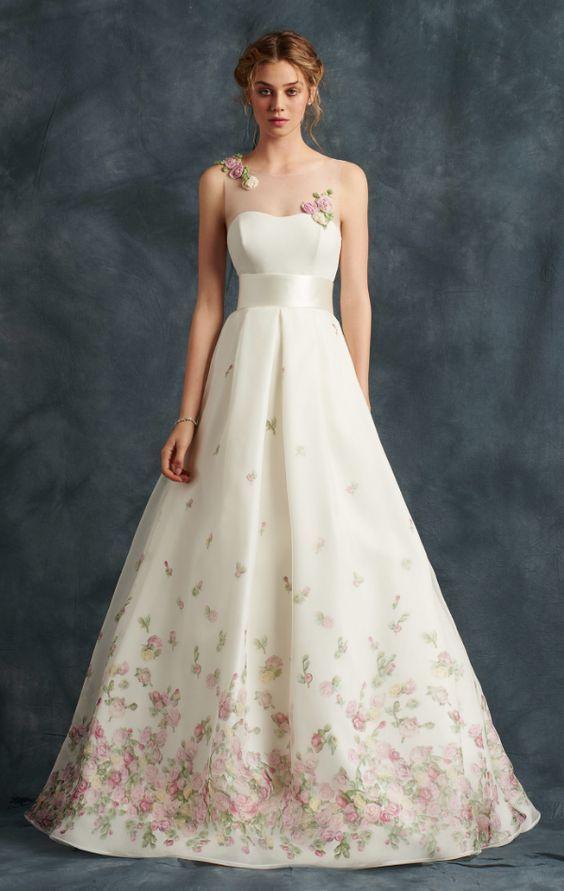 Featured Dress: Atelier Eme; Wedding dress idea.