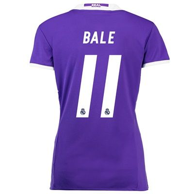Real Madrid Away Jersey 2016/17 - women - with Bale 11 printing: The Real Madrid Away Shirt 2016-17 -… #RealMadridShop #RealMadridStore
