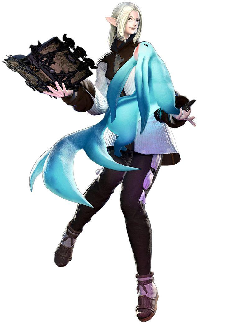 Final Fantasy XIV - Elezen Arcanist