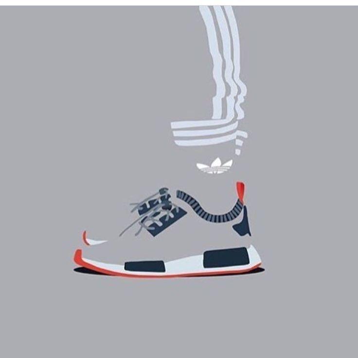 #sneakerart #artist @_minimalistkicks_
