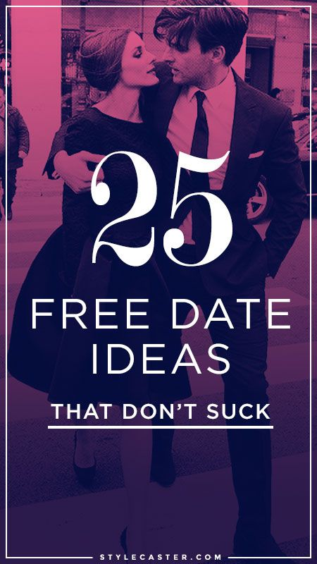 25 FREE Date Ideas - Love don't cost a thing.