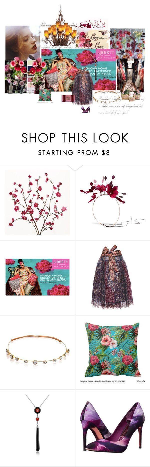 """Comienzo de año..."" by maryrosa on Polyvore featuring moda, Cost Plus World Market, Valentino, Etro, Jennifer Behr, Del Gatto, Ted Baker, Dsquared2 y Kalco"