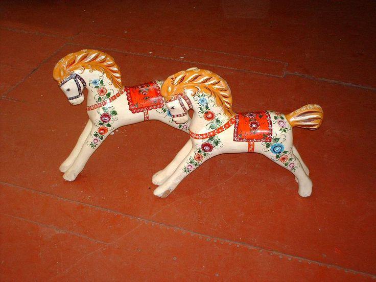 Городецкая деревянная игрушка - ожившая сказка