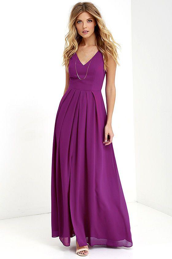 1000  ideas about Purple Maxi Dresses on Pinterest  Purple maxi ...