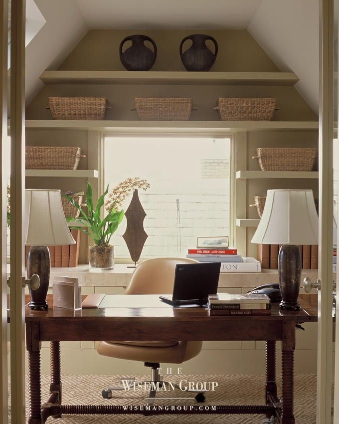 The Wiseman Group - love the built-ins