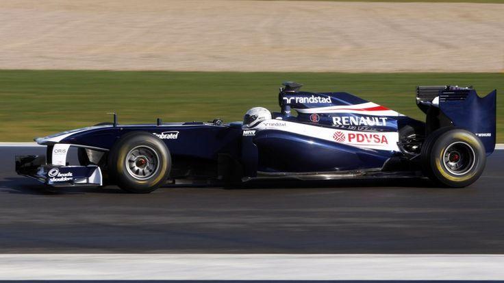 Susie Wolff, Williams FW33, Silverstone, 2012