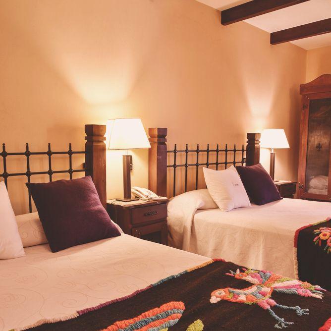 Habitación doble en Villa Vicuña Cafayate