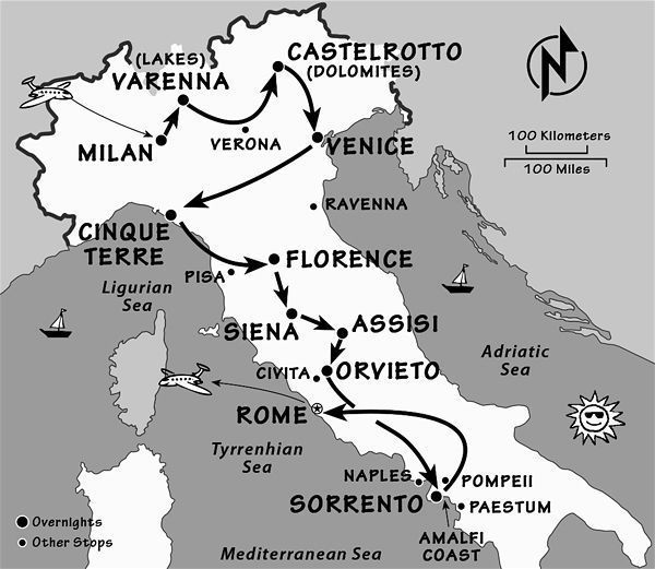 Italy Itinerary: Where and When to Go to Italy by Rick Steves   ricksteves.com
