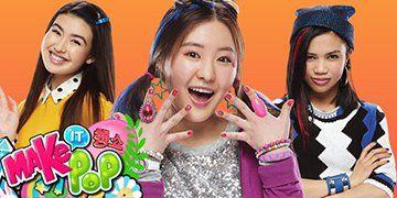 Make It Pop! Season 1. Image from http://images.tvrage.com/shows/49/48358.jpg.