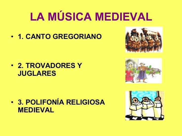Musica mediaval http://www.slideshare.net/Paolaoliva1/musica-medieval