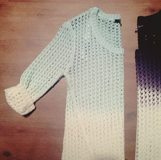 OMBRE KNITS! / Keeping warm in this chilly #MTL weather never looked so good!