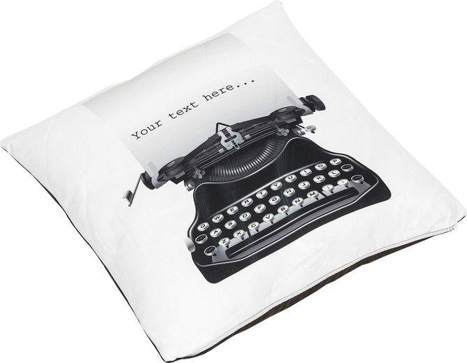 Poduszka Typo - Tekstylia - Artykuły Dekoracyjne - Meble VOX
