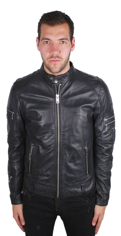 e11e7c91 eBay #Sponsored Diesel L-Sound 900 Leather Jacket | Men's Clothing ...