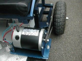 Go Kart Building, Photos of an Electric Go Kart for Kids - Page 2