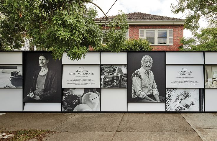 Positioned as 'One of a Kind', Orchard Piper's Washington Street Development presents a new benchmark in luxury property. #Hoarding #barricade #design #marketing