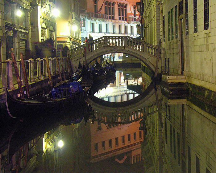 Mistica tarde en Venecia