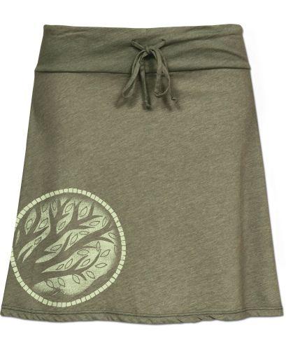 Recycled Yoga Skirt: Soul Flower Clothing