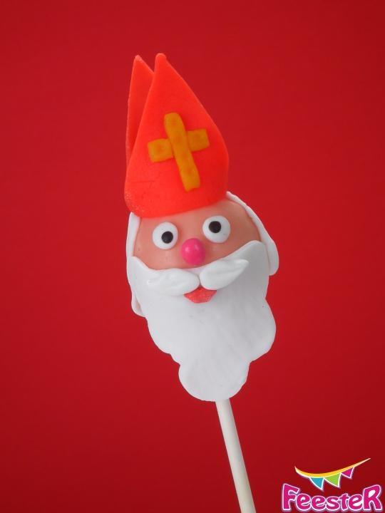 Sinterklaas Cake Pop Recept voor bij de Cake Pop Piet en Kado Cake Pops