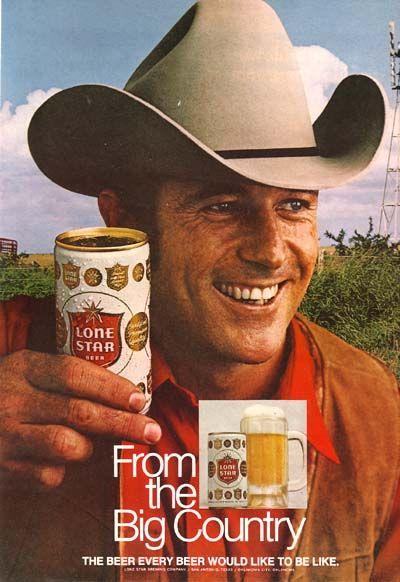 Lone Star Beer.