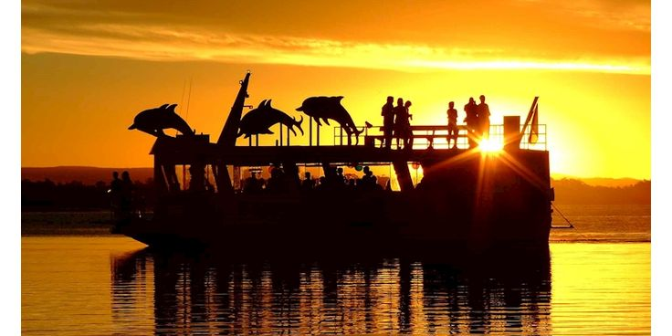 For unique things to do on Bribie Island, why not surprise your partner with a Ferryman Cruises Sunset Cruise. The romantic 2 hour, early evening Pumicestone Passage cruise will take in al...
