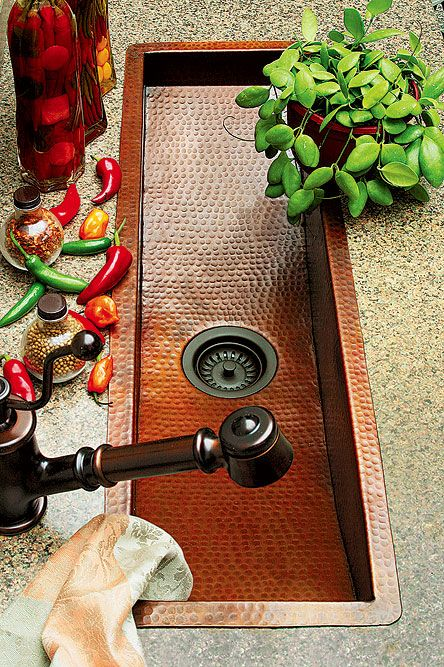 Island sink, something to think about for our next house :  )