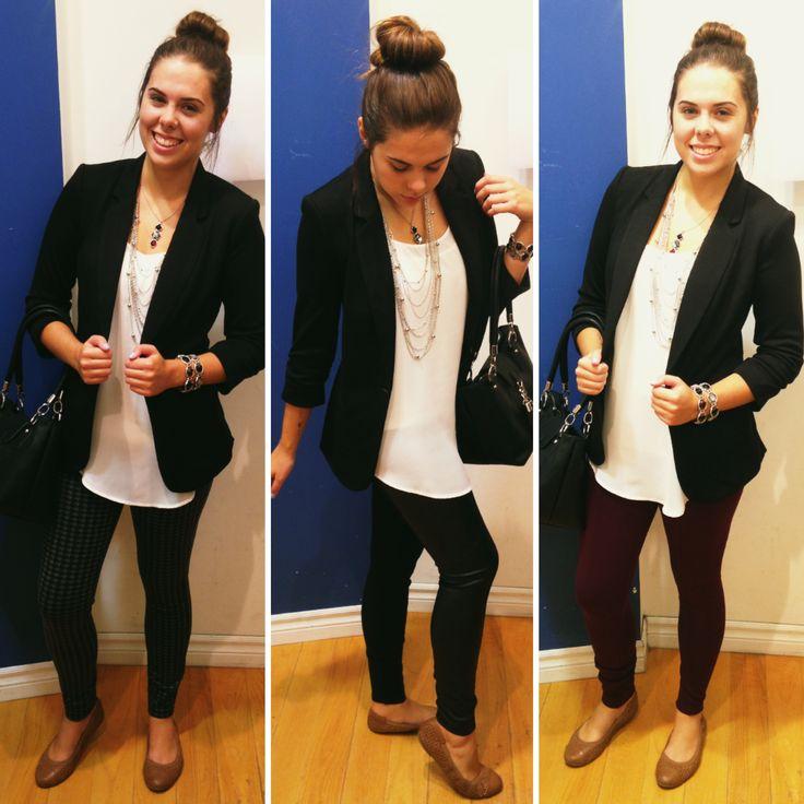 Store associate Lauren wearing her Sassy Pants! #rickis #rickisinreallife #rickisfashion #pantsonality #sassypants #sassy #pants