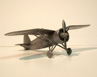PZL P-11C by ZP Ruch. Details: http://pufiland.weebly.com/planes.html
