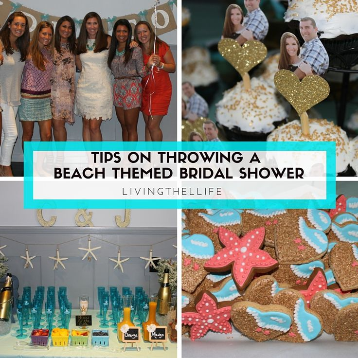 Tips And Ideas For Throwing A Beach Themed Bridal Shower