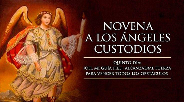 Quinto Día de la Novena a los Ángeles Custodios