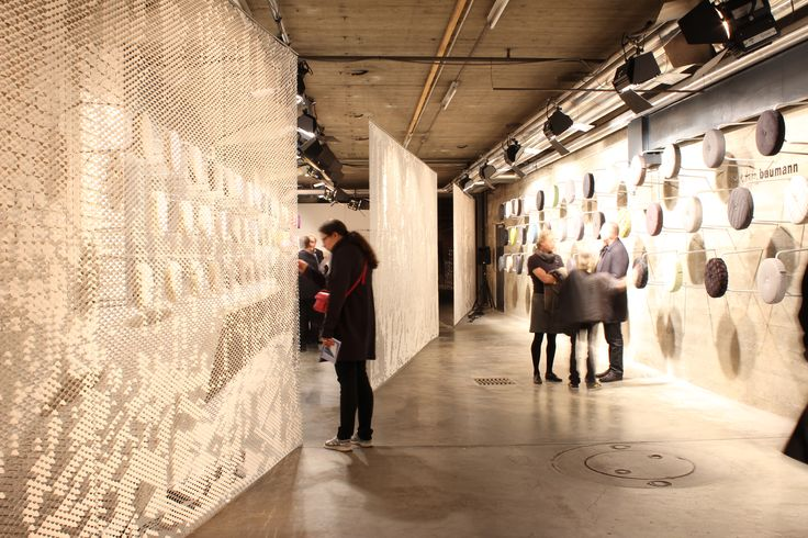 Welcome to Création Baumann's exhibition at the designers' saturday!