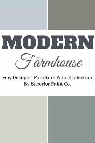 Modern Farmhouse Paint Colours