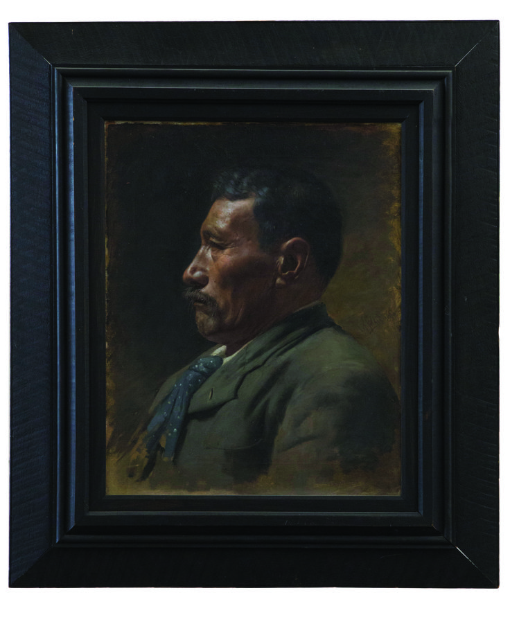 Early Goldie portrait of mystery Maori man expected to fetch $400,000 at auction - National - NZ Herald News
